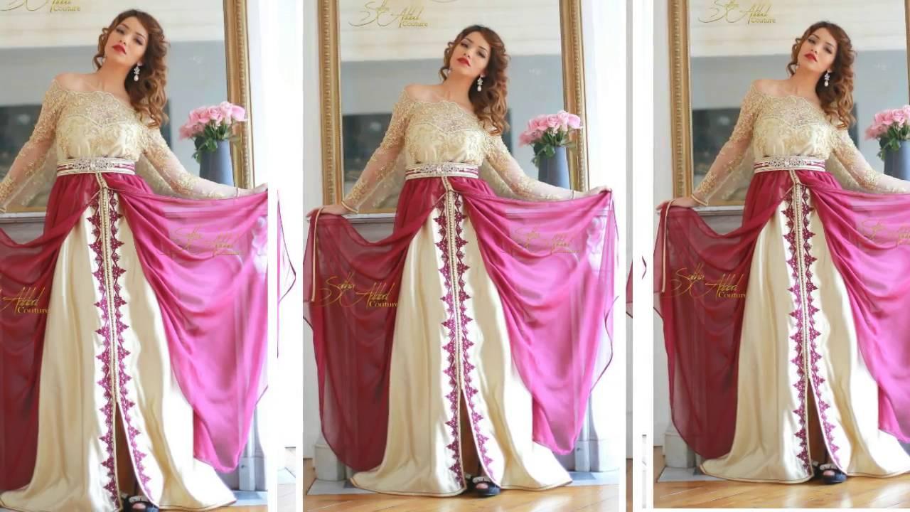صورة فساتين اعراس جزائرية للبنات , بنات الجزائر بتفصيلات لفساتين افراحهم 5902 6