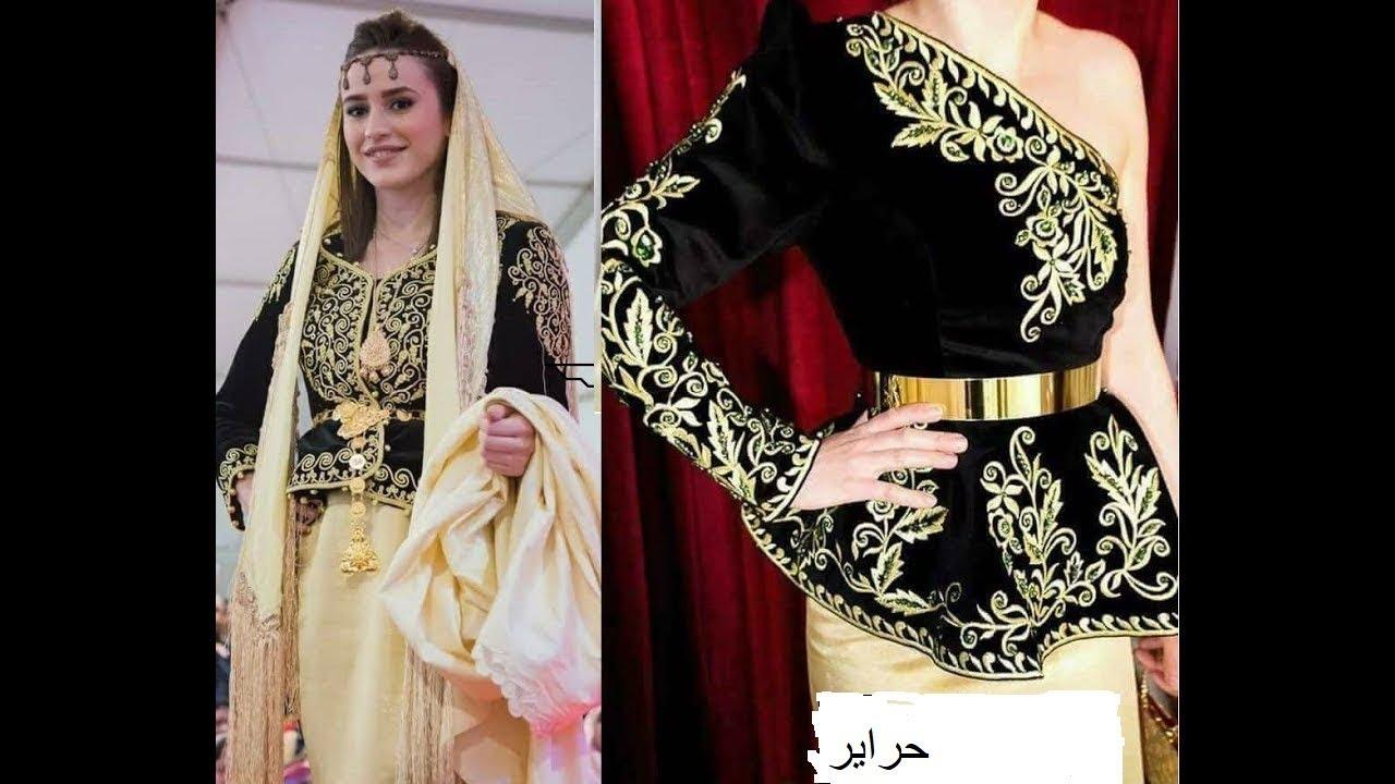 صورة فساتين اعراس جزائرية للبنات , بنات الجزائر بتفصيلات لفساتين افراحهم 5902 7