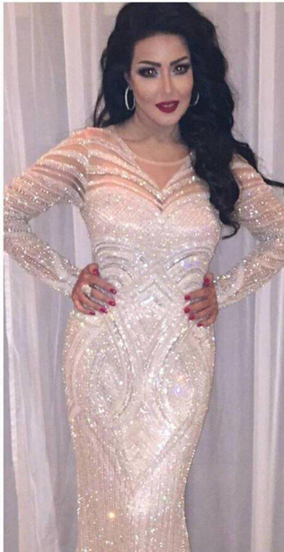 صورة فستان سميه الخشاب , سميه الخشاب واحدث فستان لها 5926 2