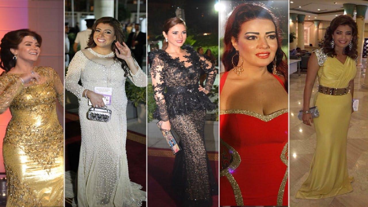 صورة فستان سميه الخشاب , سميه الخشاب واحدث فستان لها 5926 4