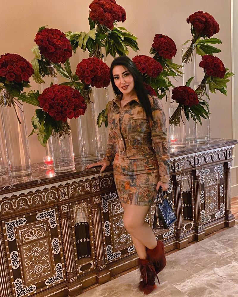 صورة فستان سميه الخشاب , سميه الخشاب واحدث فستان لها 5926 8