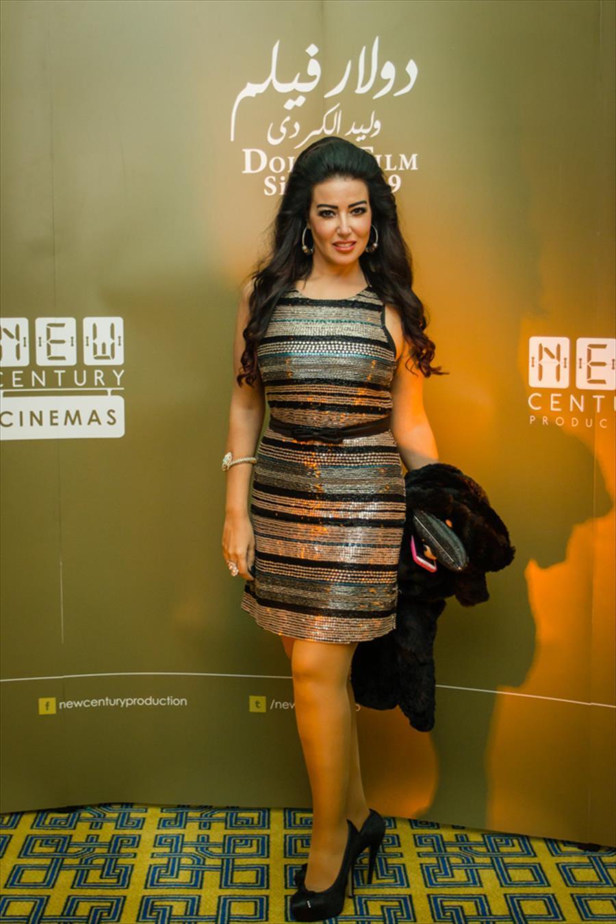 صورة فستان سميه الخشاب , سميه الخشاب واحدث فستان لها 5926 9