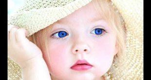 صورة حبيت الاطفال من جمالهم , صور اطفال عيونهم زرق