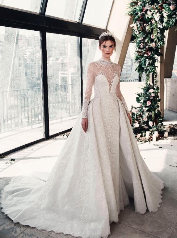 صورة فستان يهوووس من جماله , فستان فرح 2019 1421 3
