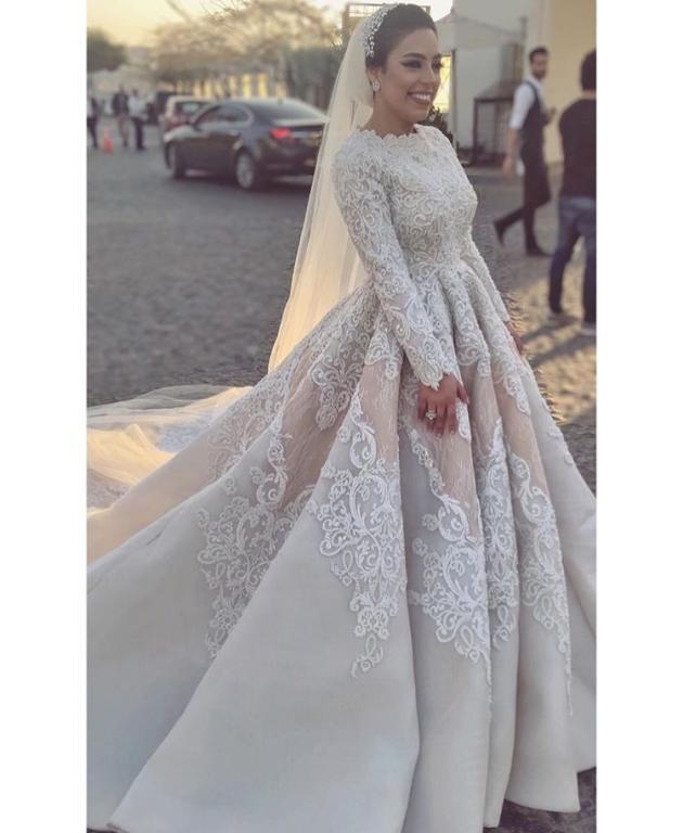 صورة فستان يهوووس من جماله , فستان فرح 2019 1421 4